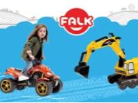 Детски играчки за яздене и каране FALK в промоция