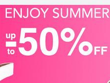 Enjoy Summer up to -50%