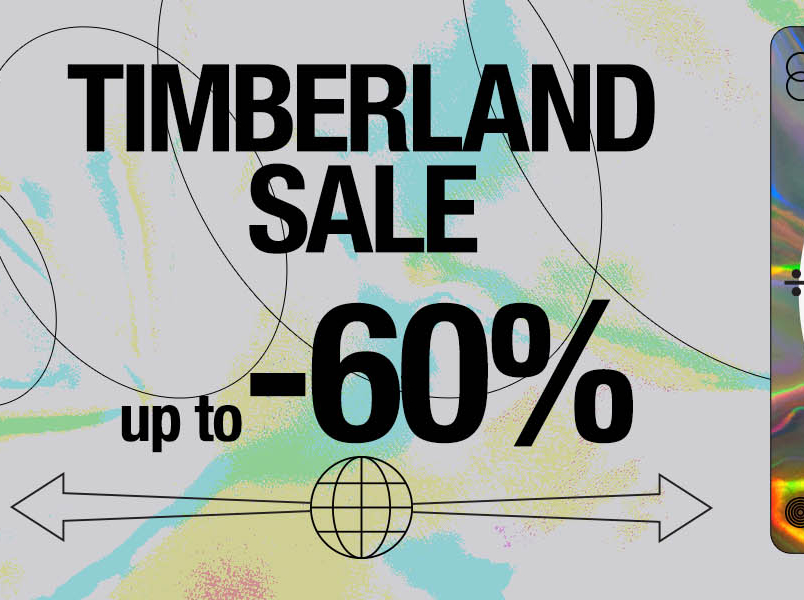Timberland sale up to -60%