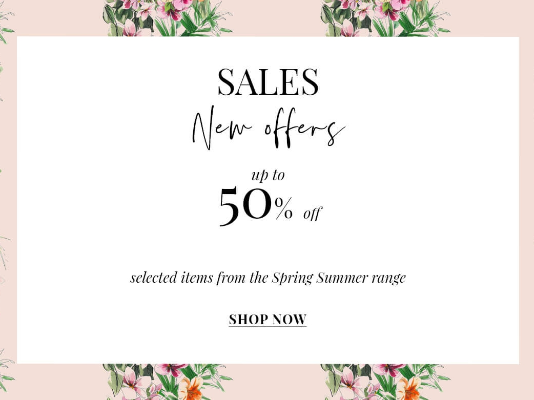 Sales new offers up to 50% Off